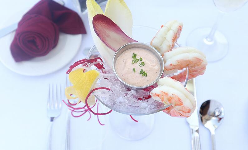 Shrimp Cocktail Deck Valentines